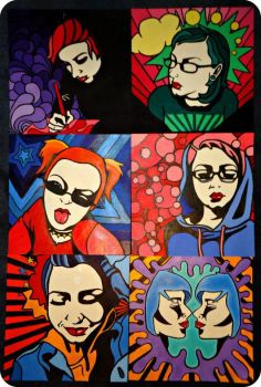 Self Portraits by LexiconDevil14