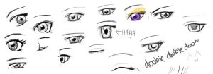 'Anime' Eyes by courtz-89