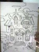 funny scary house by jack9730
