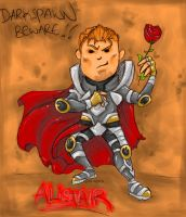 Darkspawn Beware - Alistair by Pink-Myotis