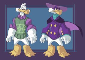 Tindraws- 80-90 Cartoons- Darkwing Duck by stplmstr