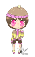 Chibi Custom 2 for Mira3Lawlz by SunflowerDragon