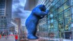 Big Blue Bear by RogueLieutenant