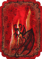 ATC: Fire Sprite 2 of 4 by GillianIvy