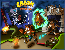 Crash Bandicoot: of the TITANS by Lars99