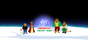 LKHFF Christmas YouTube 2013 Wallpaper by BennytheBeast