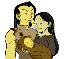 XS: Dashi's Parents by AnodizedPink