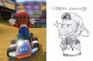 Mike Nyke in MarioKart 8(Deluxe) by MrNintMan