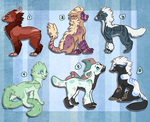 Free Adoptables Batch 39 by Petit-Pets