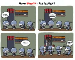 Have Blood? - Restaurant by redflash121
