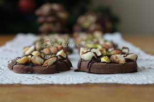 Chocolate nuts cookies by kupenska