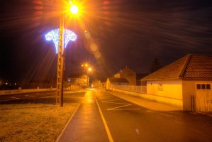 My village in Normandy, France by Jean-Baptiste-Faure