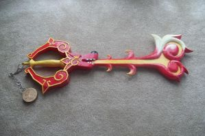 hidden dragon keyblade by finaformsora