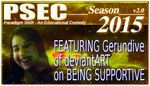 PSEC 2015 Gerundive on Being Supportive by paradigm-shifting