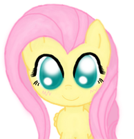 Kawaii Fluttershy (Remake) by Vocapony