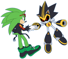 Scourge and Shard by Myly14