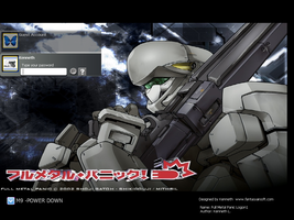 Full Metal Panic Logon Theme by laserguidedfilms
