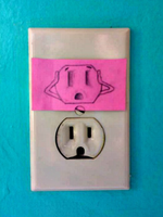 Fun with electrical outlets! by SamiJae