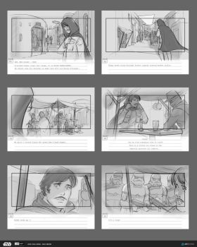 ILM Art Department Challenge - Storyboards by rmohr