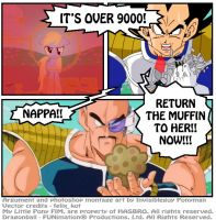 Over 9000!!! by INVISIBLEGUY-PONYMAN