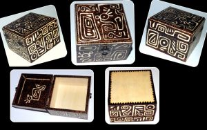 Hieroglyphs Box by my-craftmania