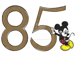 Mickey Mouse 85th Birthday by Daniela-Kot91