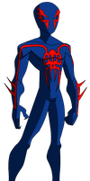 Spectacular Spider-Man 2099 by ValrahMortem