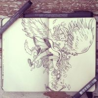 #30 Spread your wings by 365-DaysOfDoodles