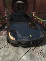 Black Ferrari by DrArmless