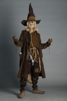 Scarecrow cosplay: the master of fear by Marivel87