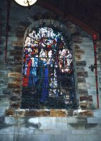 Stained Glass Window 1 by gmtb-stock