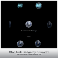 Boot animation Star Trek Badge by rufus721 by deskmodder