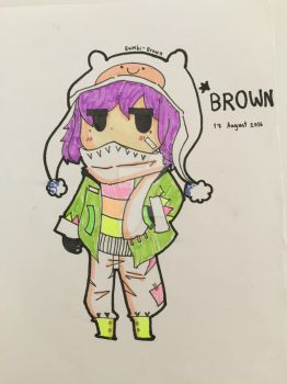 BROWN BY BAMBI by Bambi-brown