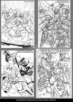 HEADMASTERS DVD COVER SKETCHES by GuidoGuidi