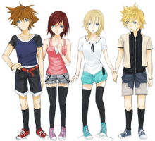 Request : Kingdom Hearts by iMii-s