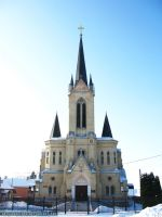 Lutheran church in Lutsk by ArthurGautama