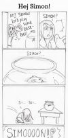 Funny Comic - Hej Simon! by JericaLilith