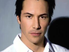 Keanu Reeves by Fooki
