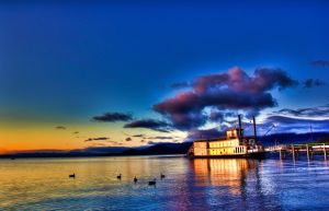 Tahoe Ferry by Cellar-door-photos