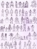 Alternate '62 Thumbnails 1 by Mooknar