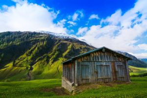 Swiss Alp Hut by DanTheCameraMan