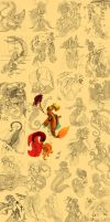 The Mermaid Compilation by Paola-Tosca