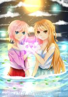 Glowing love(?) by Levina99