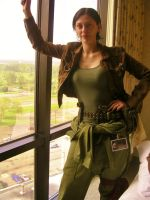 Steampunk Mechanic Costume by Linfae