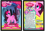 MLP: Fangirl Trading Card by KPenDragon