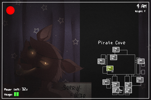 Five Nights At Freddy's - The Pirate Cove by 1Day4Dreams