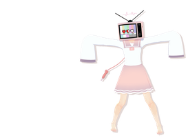 mmd tv head by whimsicottsh