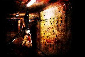 my silent hill tribute 9 by ichigopaul23