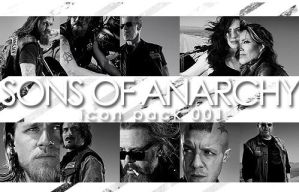 Sons Of Anarchy Icon Pack 001 by Sara-Devestation
