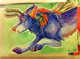 Iron Artist Challenge ACEO 7 by nightspiritwing